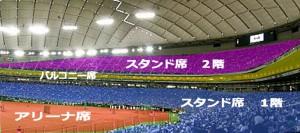 スタンド 東京ドーム