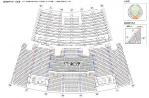 札幌ドーム座席表4