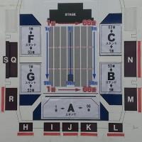 マリンメッセ 座席表B